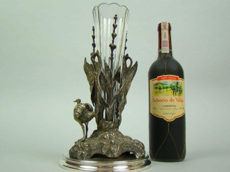 unikat wazon struś