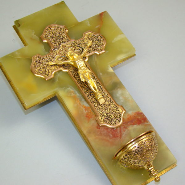 olbrzymia mosiądz złocony