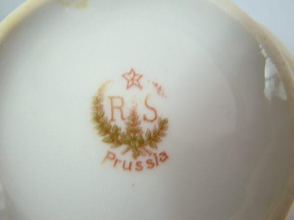 PRUSSIA PRZEBOGATA FILIŻANKA RĘCZNIE MAL A-1325