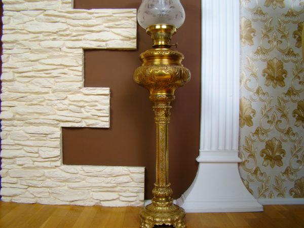 LAMPA OLBRZYMIA MOSIĄDZ ZŁOCONY A-1339