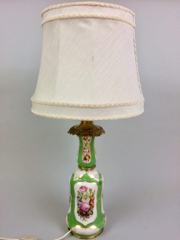 RĘCZNIE MALOWANA OLBRZYMIA LAMPA ZŁOTE ZDOB A-1331