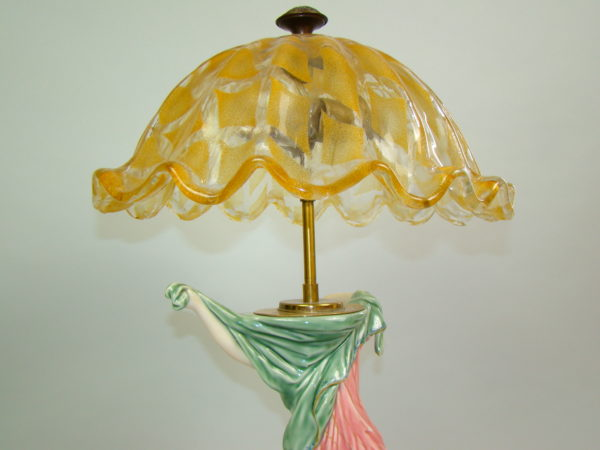BERLIN UNIKAT FIGURALNA LAMPA A-1450